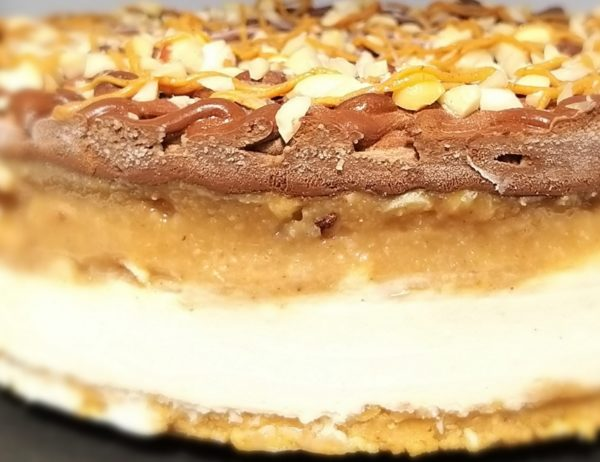 tort snickers vegan