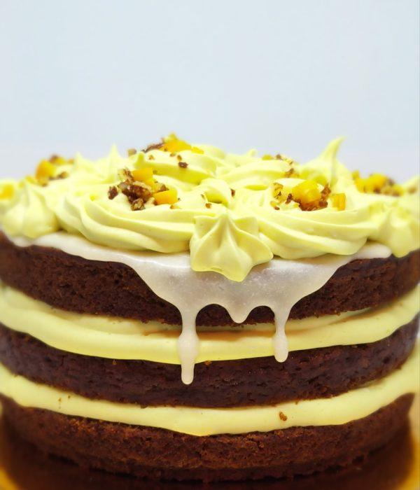 Tort de Vanilie și Portocale Vegan
