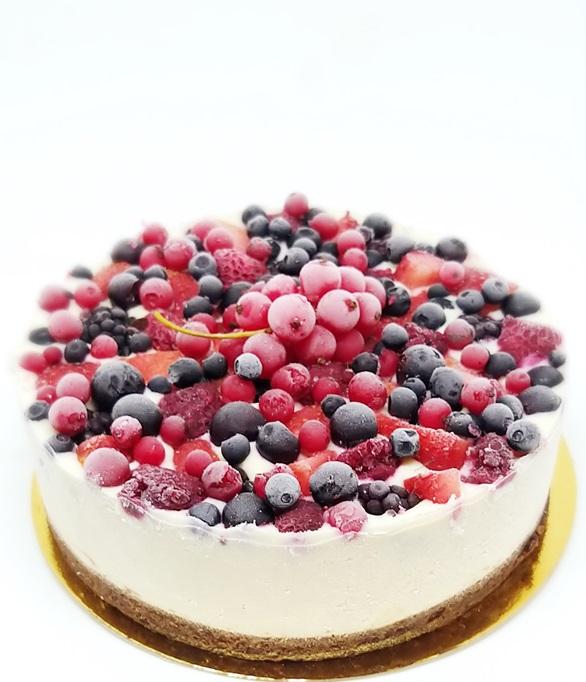 cheesecake fructe padure
